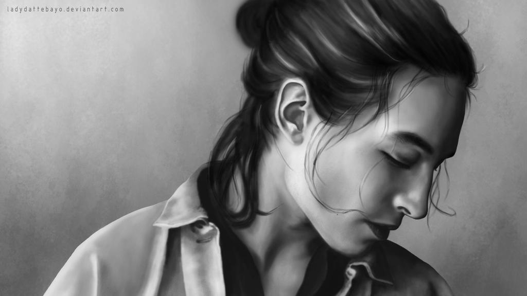 Ezra Miller by LadyDattebayo