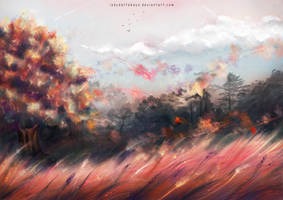 Autumn wind by LadyDattebayo