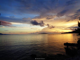 Sunset by LadyDattebayo
