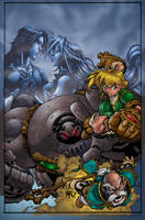 Battle Chasers by Alentrix