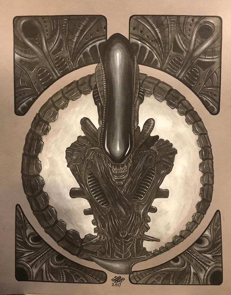 Alien by Alentrix