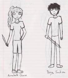 HoO - Annabeth Chase and Percy Jackson