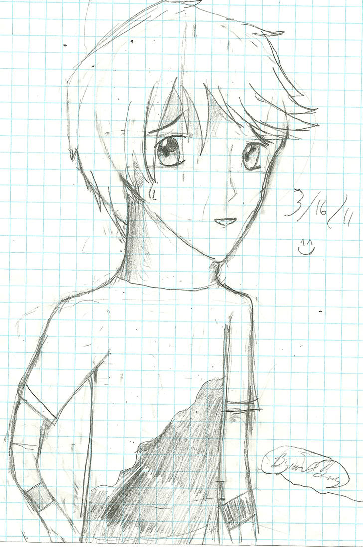 I can draw on graph paper o-o by animemefreak74 on DeviantArt
