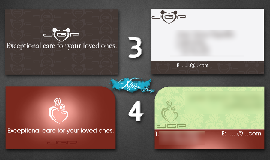 Business Card Caregiver 1 by xyms on DeviantArt