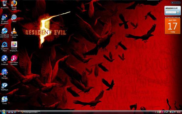 resident evil 5 wallpaper. My Resident Evil 5 Wallpaper