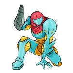 Samus Fusion Suit