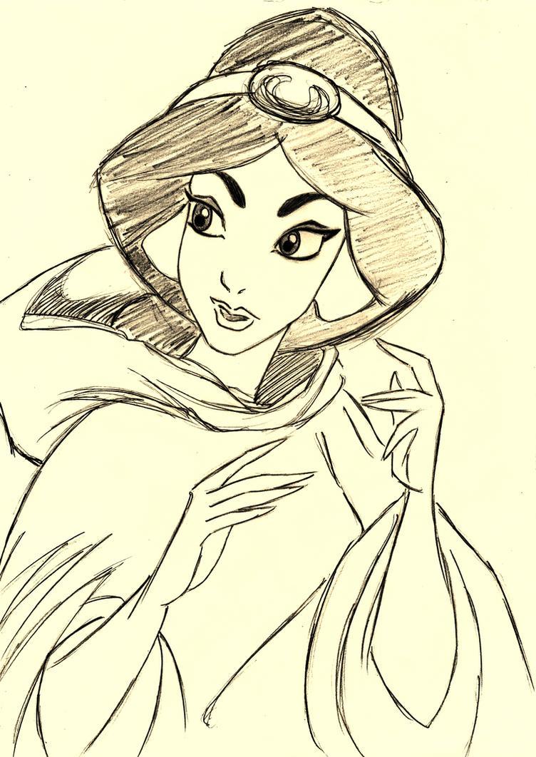 Princess Jasmine - Aladdin by SophiaLiNkInFaN93