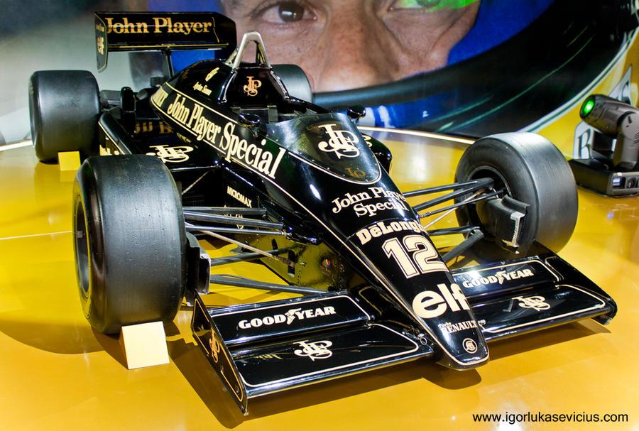 Ayrton Senna's Lotus 1985 by IGORLUKAS