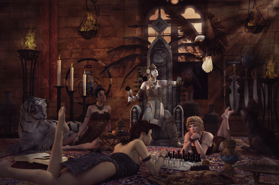 Queen of the North by Zwavelaar