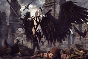 Dark Angel by Zwavelaar