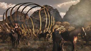 Dragon Bones Peak by Zwavelaar