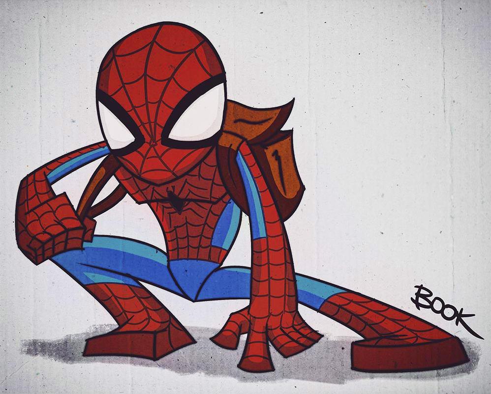 Spidey sketch! by JoshBook