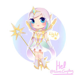 Elementalist Lux [Light] CHIBI