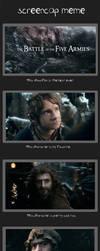 Screencap Meme: The Battle of the Five Armies by Swisskun
