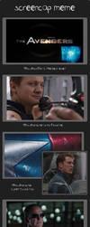 Screencap Meme: The Avengers by Swisskun