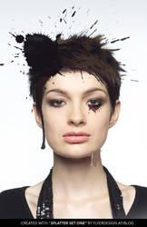 ink splatter model