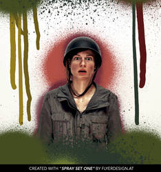 soldier graffiti