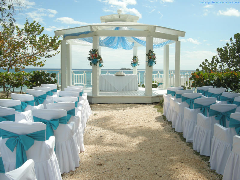 Ideas to decorate gazeebo for wedding on pinterest for Weddings in the carribean
