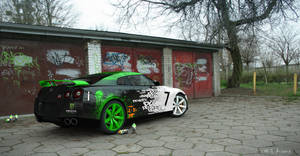 Nissan GTR - Ken Block Paint Job