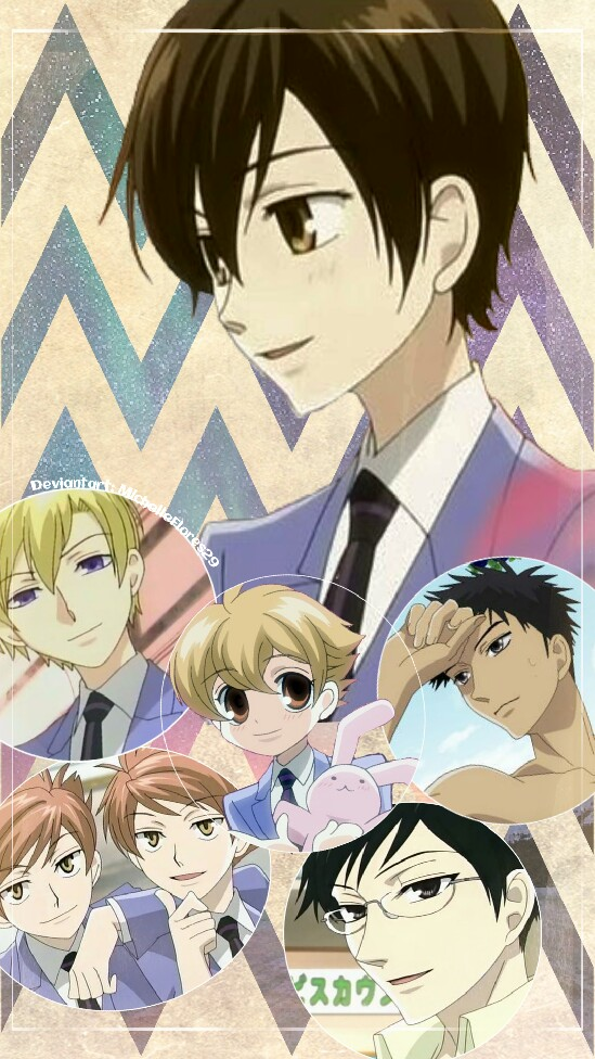 Ouran Highschool Host Club Edit Wallpaper By Michelleflores