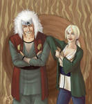 Tsunade and Jiraya for DAT