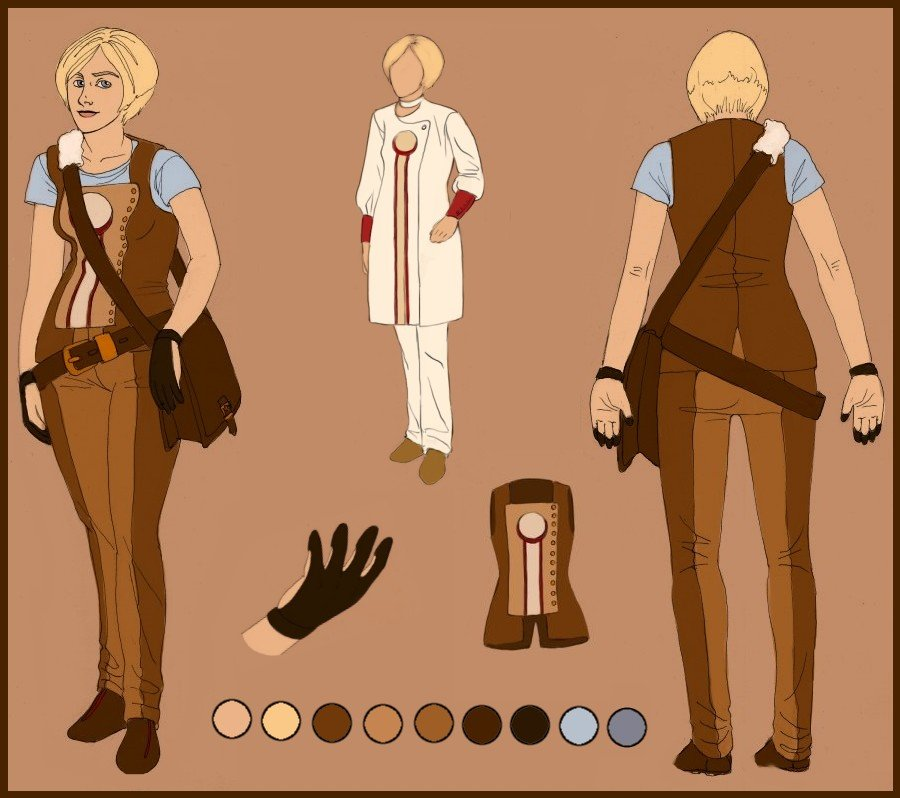 Character sheet- Aida