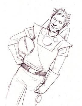 Spaceman- sketchmeme for Toji