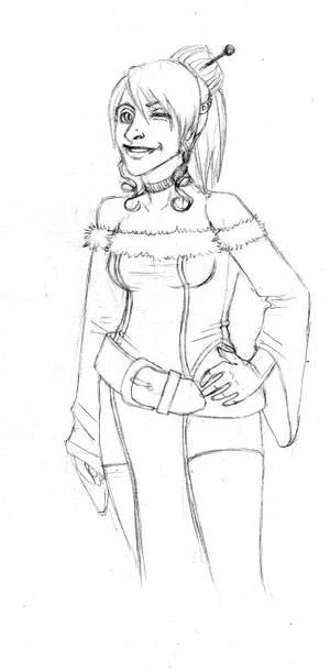 sketchmeme- Leona for Ryuichi
