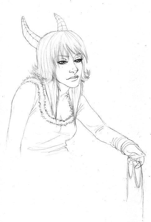 bonus sketch- for Robo Orange by nastenka
