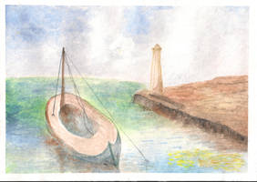 Watercolour study 03 by Pinkagony