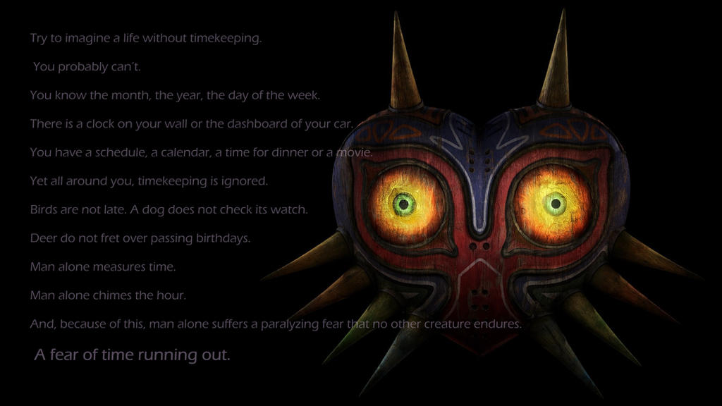 Majora's Mask- The Time Keeper background by GrinChem on ...