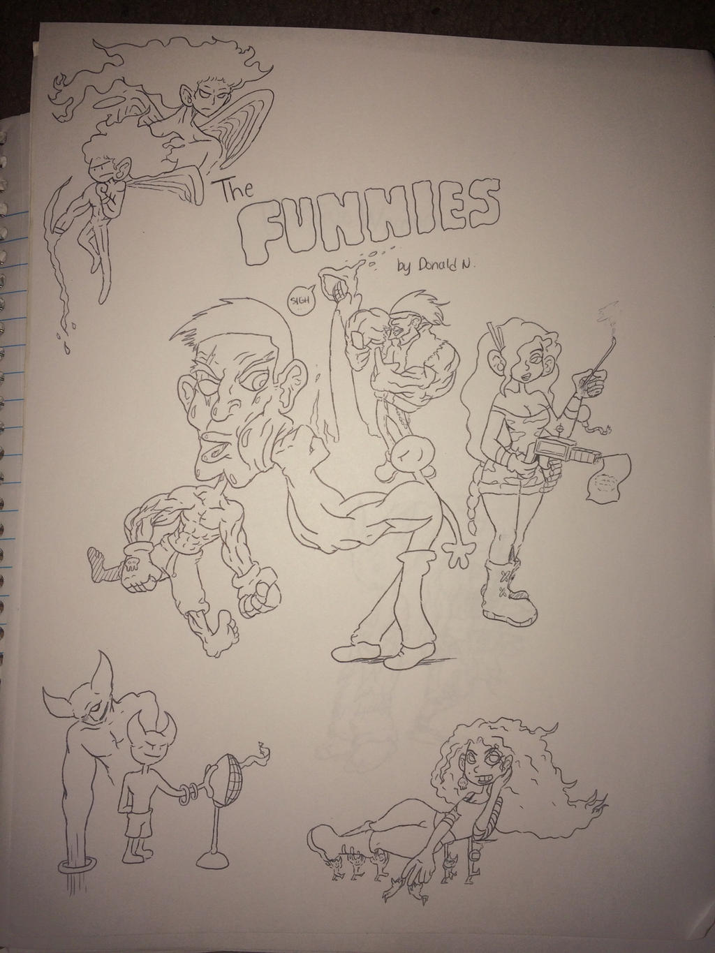 The Funnies by Donthedemon0