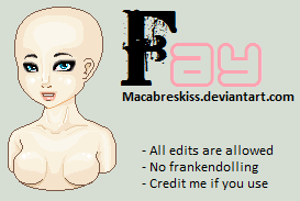 +__ Fay by Macabreskiss