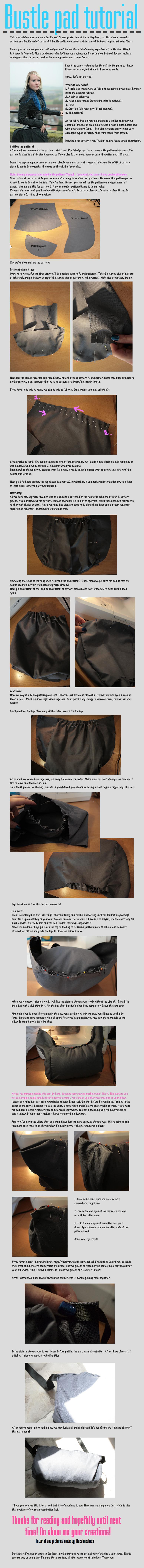 +__ Bustle pad tutorial by Macabreskiss