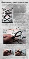 Decorative bow tutorial