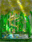 Hikari no Mori Forest of Light