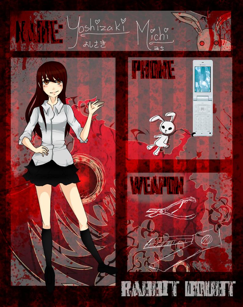 Rabbit Doupt App : Michi Yoshizaki by Tsubaki-Pixel