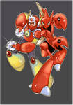 Metalman and Scizor