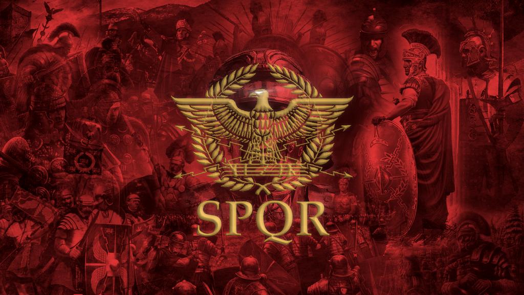 Roman Spqr Wallpaper Better Campaign Map an...