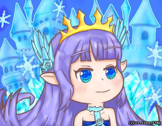 Lily Crystalian Princess chibi by xSeanFTWx