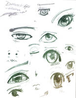 Different eyes by Colettexangel