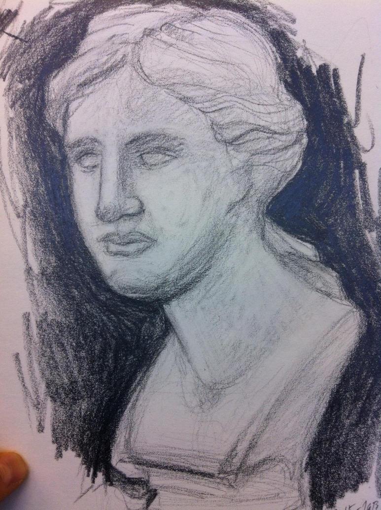 Bust of Venus by WickedOffKiltah