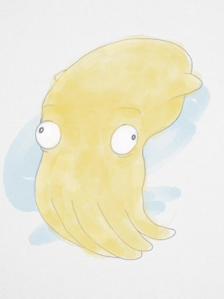 Derpy Squid by WickedOffKiltah