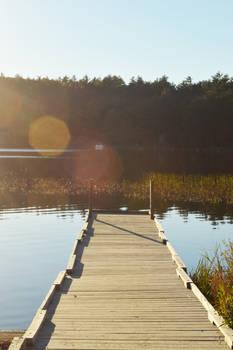 Dock at Echo Lake