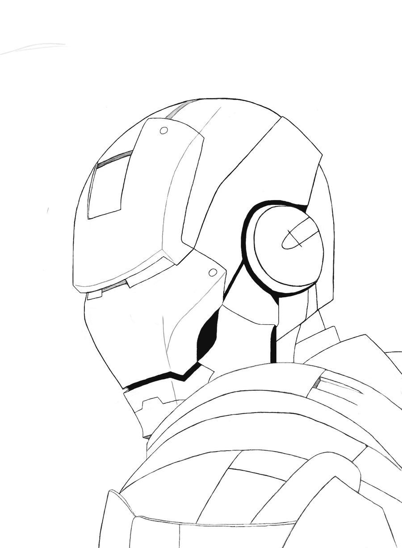 Iron Man - Sketch by DjPerisH on DeviantArt