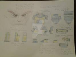 Kyu's Saiyan Armor