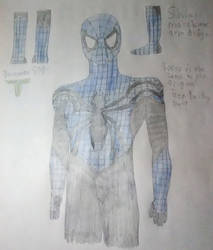 Cobalt Spider Suit