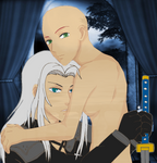 Sephiroth X Oc Base by yunianinjamisterss15