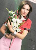 Aerith Gainsborough Cosplay 8 by AliceNero