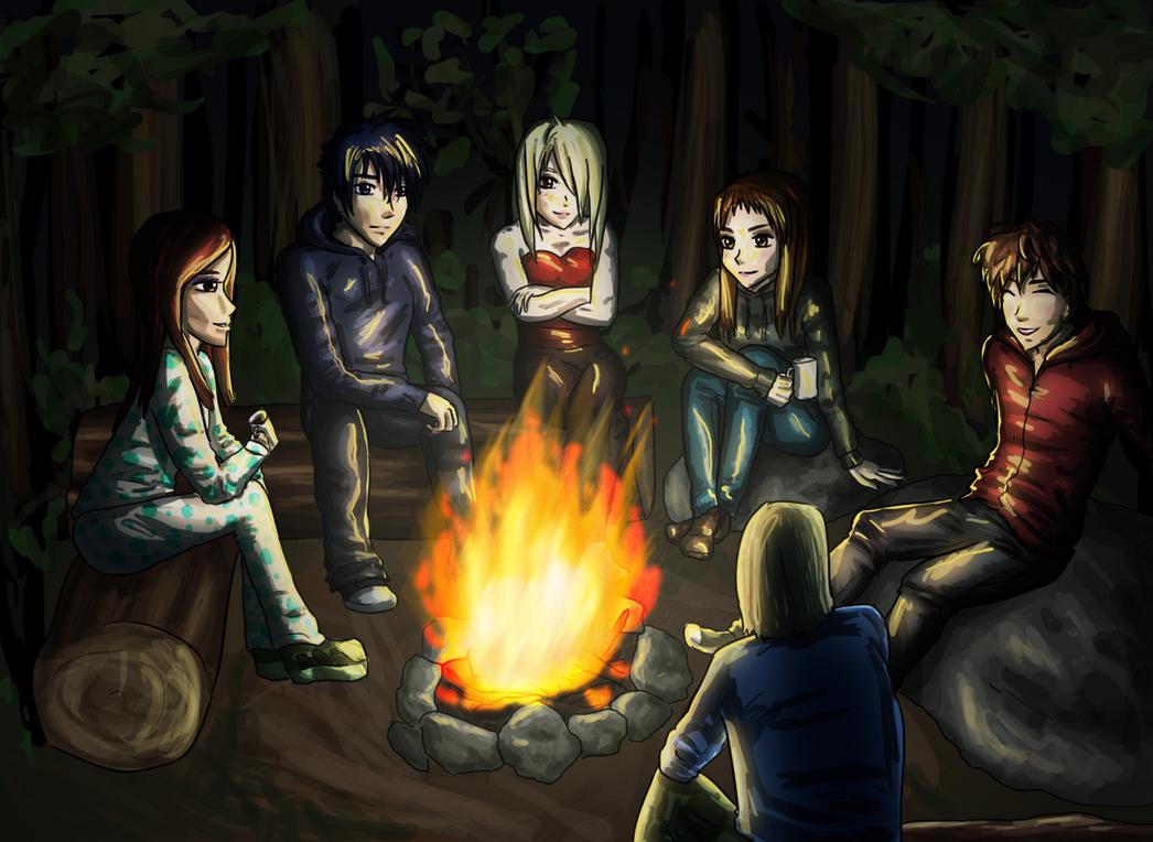 Campfire By SkyArrow On DeviantArt